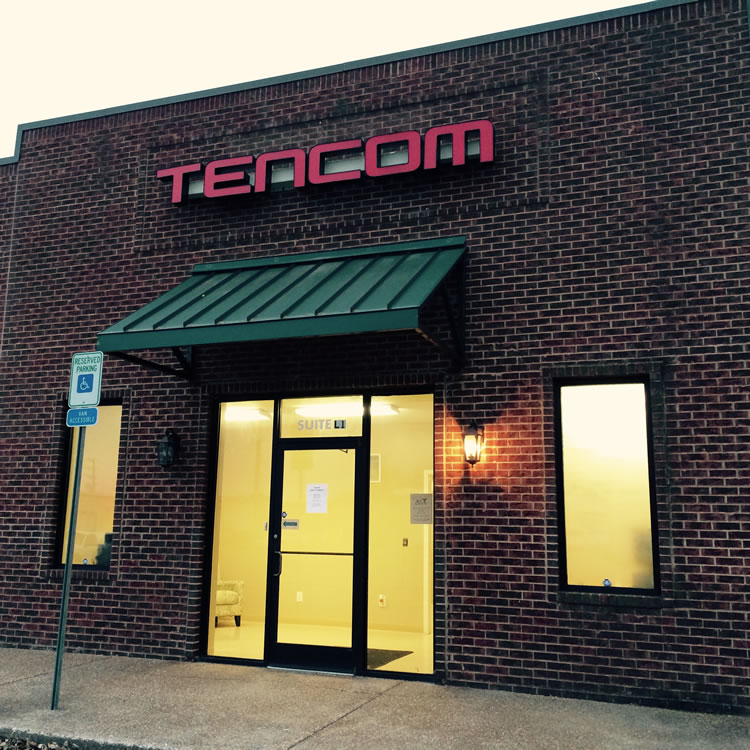Tencom Services building in Dyersburg, TN