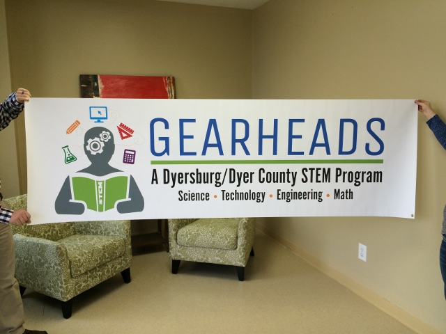 dyer county gearheads banner